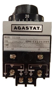 AGASTAT   7012ADM     Time Delay Relay 120VAC  5 - 50 seconds  TE Connectivity