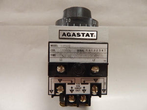 AGASTAT   7022ABT     Time Delay Relay 120VAC 5 - 5 seconds  TE Connectivity