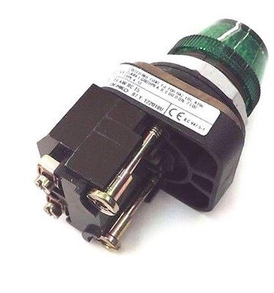 Allen Bradley   800T-P16G      Green Transformer Type Pilot Light 120V 60HZ 305MM