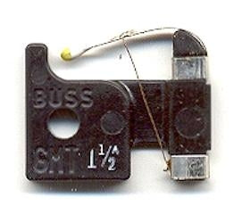 BUSSMANN   GMT-1-12A     FAST-ACTING INDICATING TELECOM FUSE 1-12 AMP