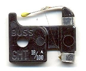 BUSSMANN   GMT-18100A     FAST ACTING INDICATING FUSE