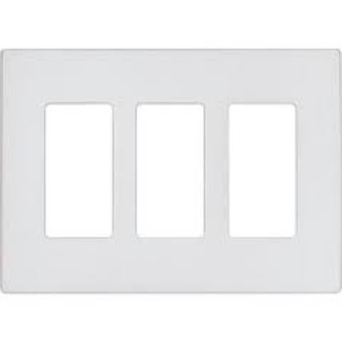 COOPER WIRING DEVICES   9523SG     ASPIRE 3 GANG MID SIZE WALLPLATE SILVER GRANITE