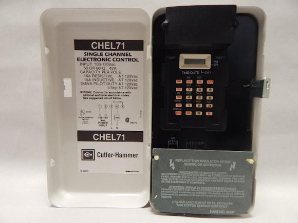 CUTLER HAMMER   CHEL71     ELECTRONIC TIME CLOCK