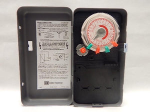 CUTLER HAMMER   CHEM101NM     SPST TIME CLOCK 24 HOUR 40A 120V PLASTIC INTERIOR