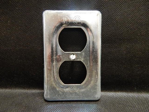Crouse Hinds   DS23     1 Gang Duplex Cover FS Steel