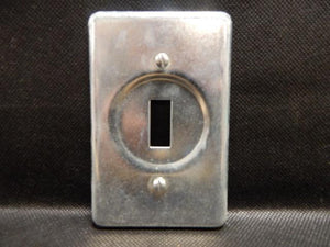 Crouse Hinds   DS32     1 Gang Switch Cover FS Steel