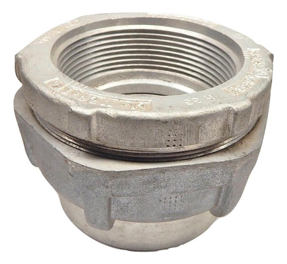 Crouse Hinds   UNF805     3 Aluminum Explosion Proof Union Female to Female