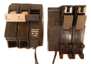Cutler Hammer    CH225ST     2 Pole 25 Amp 120240 Volt Circuit Breaker With Shunt Trip