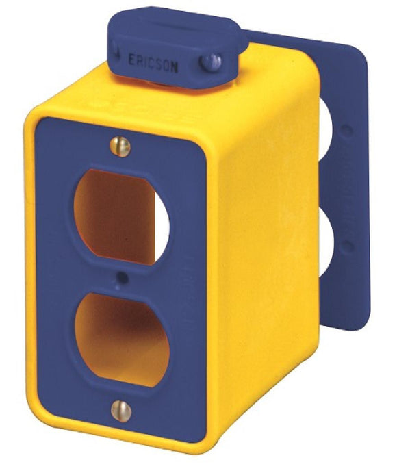 ERICSON   6000     OUTLET BOX-PENDANT FOR 2-DPLX RECPT