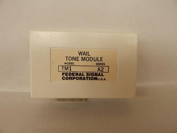 Federal Signal   TM1     Wail Tone Module 560-1055Hz 11 cyclesminute