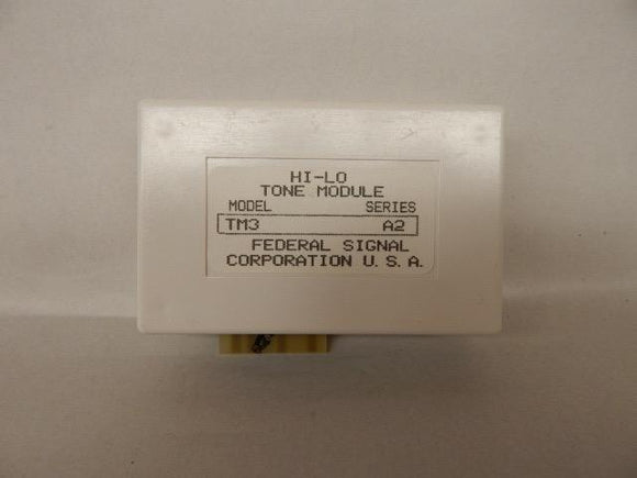 Federal Signal   TM3     Hi-Lo Tone Module 561-760Hz 50 cyclesminute