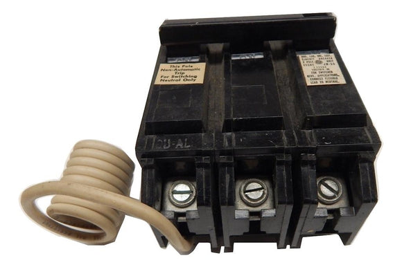 General Electric   TQL31WY20     3 Pole 20 Amp 120240V Feed Thru Circuit Breaker