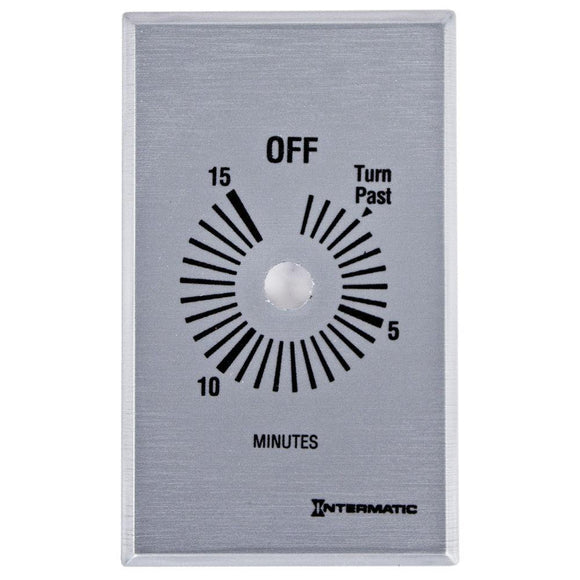 Intermatic   FF15MC     120-277V 5060HZ Spring Wound Timer 15 Minute