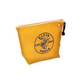 KLEIN   5539YEL     CANVAS ZIPPER BAG - CONSUMABLES, YELLOW
