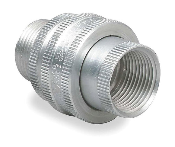 Killark   GUM-3     1 Aluminum Explosion Proof Union Male to Female