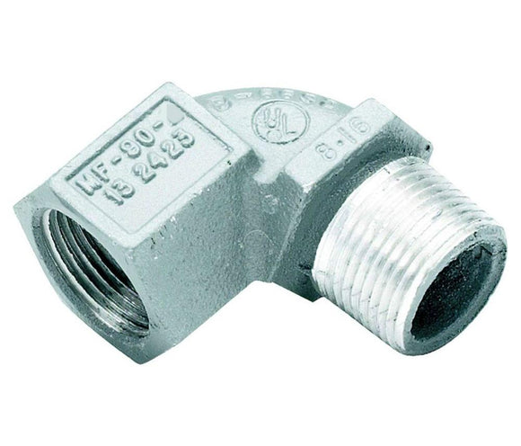 Killark   MF-90-1     Male to Female 90 12 Aluminum Elbow