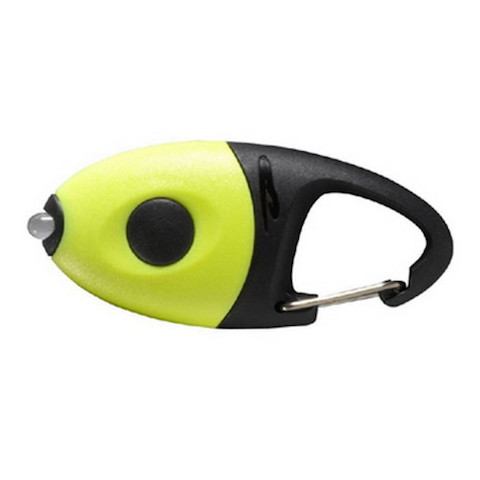 PRINCETON TEC   IMP-1-YL     IMPULSE LED FLASHLIGHT WHITE LED NEON YELLOW HOUSING 10 LUMENS