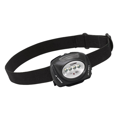 PRINCETON TEC   QUAD-IND     INDUSTIAL HEADLAMP BLACK 78 LUMENS