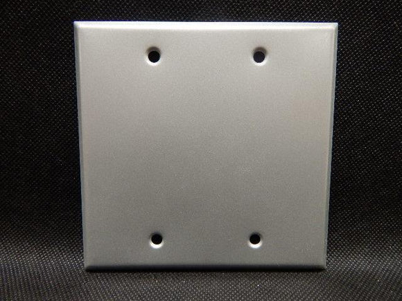 Pyle National   XCG-102       2 Gang Blank Cover FS Aluminum