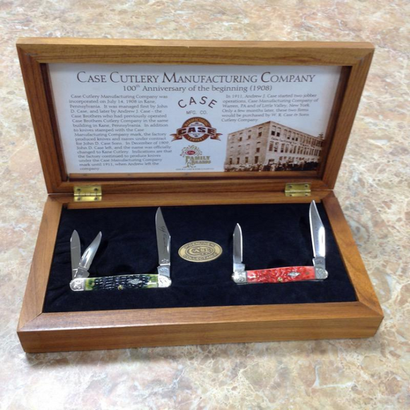 WR CASE  06925    100TH ANNIVERSARY SET