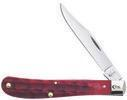 W.R. CASE   37881     DEEP CANYON DARK RED BONE SLIMLINE TRAPPER 61048 SS