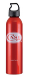 W.R. CASE  50157    CASE ALUMINUM RED DRINKING BOTTLE - 24 OZ.