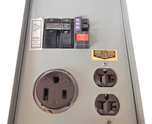 Midwest   P51C1G     120-240V 70A RV Power Panel