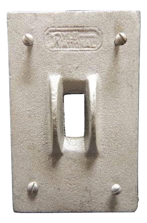 Appleton   FSK-1TSG-C       1 Gang Switch Cover FS with Guard Malleable Iron