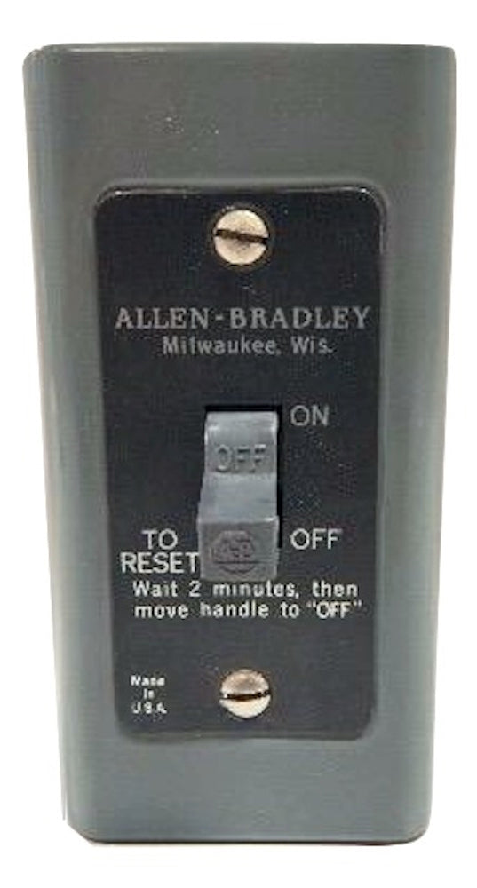 Allen Bradley   600-TAX4     Single Pole Manual Starter Nema 1