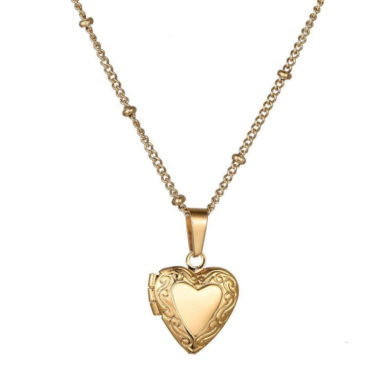 Secret Love Necklace - Silver, Gold