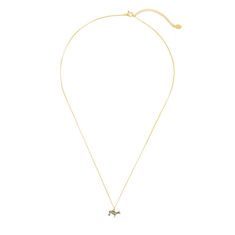 Necklace Zesty Zebra Gold