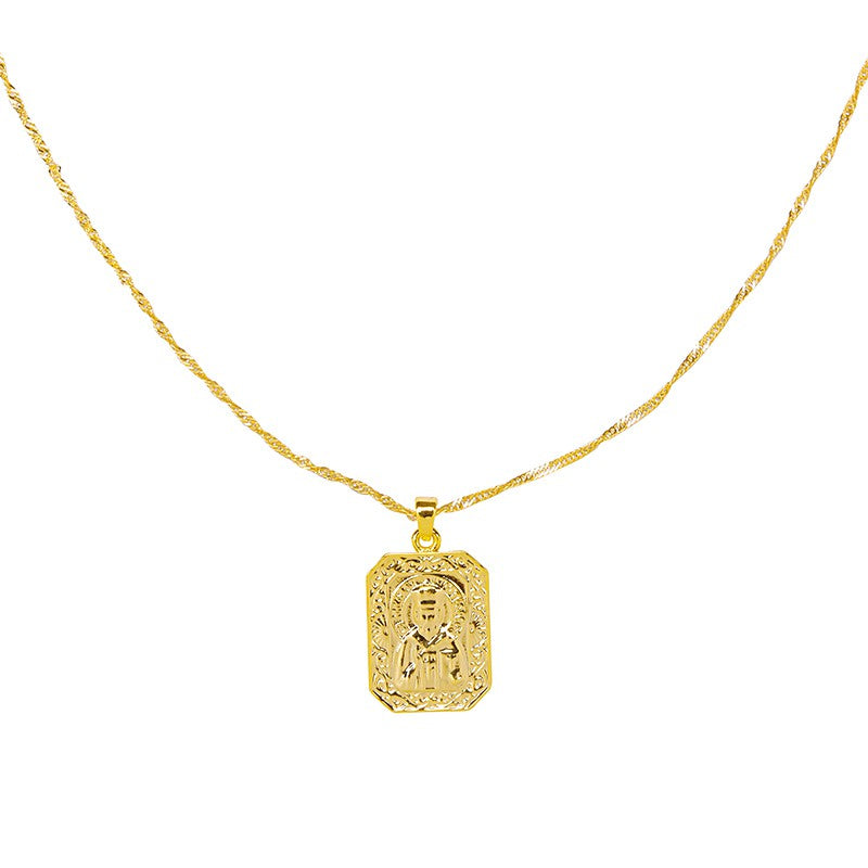 Necklace Holy Spirit - Gold & Silver