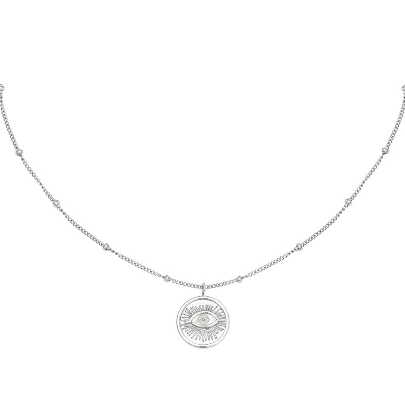 Magic Eye Ketting - Goud, Zilver