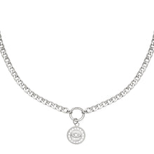 Load image into Gallery viewer, Sundial Necklace - Gold, Silver