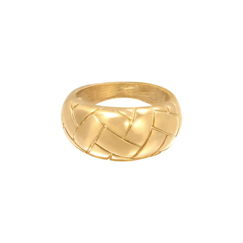 Ring Braided - Gold, Silver