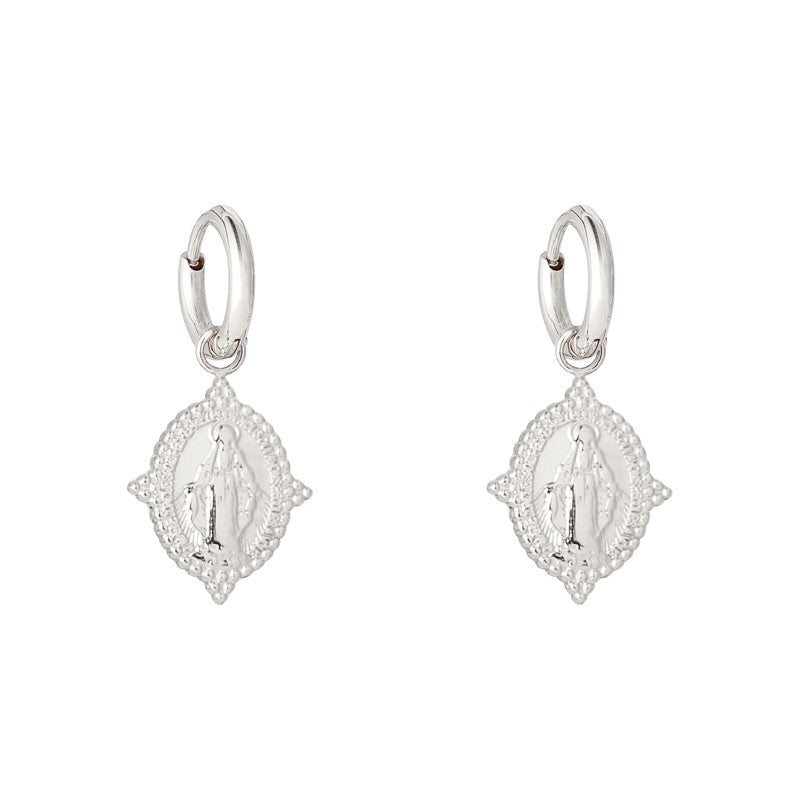 Earrings Neo Madonna - Gold, Silver