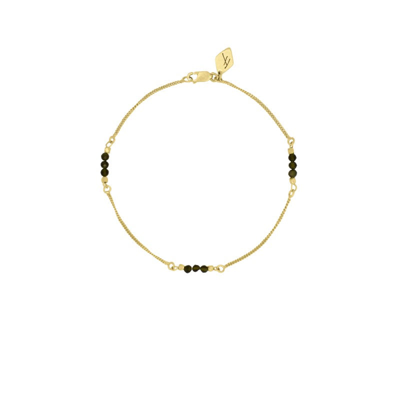 Tourmalin Bracelet Gold