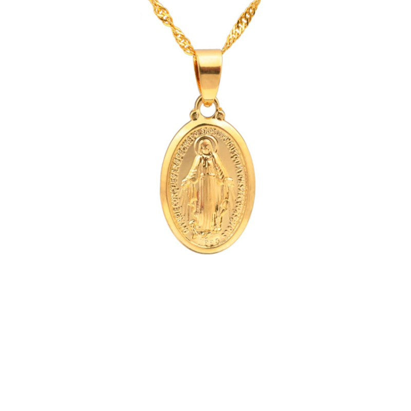 The Maria Day necklace - gold, silver