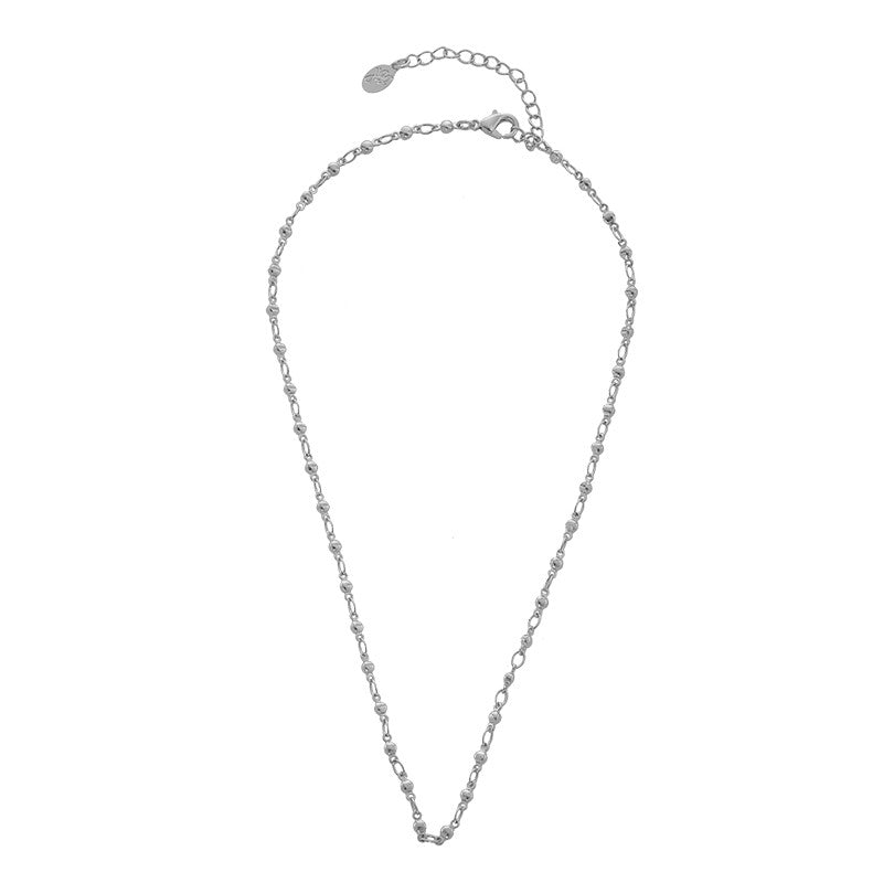 Necklace full of dots - Silver