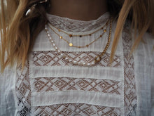 Afbeelding in Gallery-weergave laden, Lauren Pearl Necklace - Gold, Silver