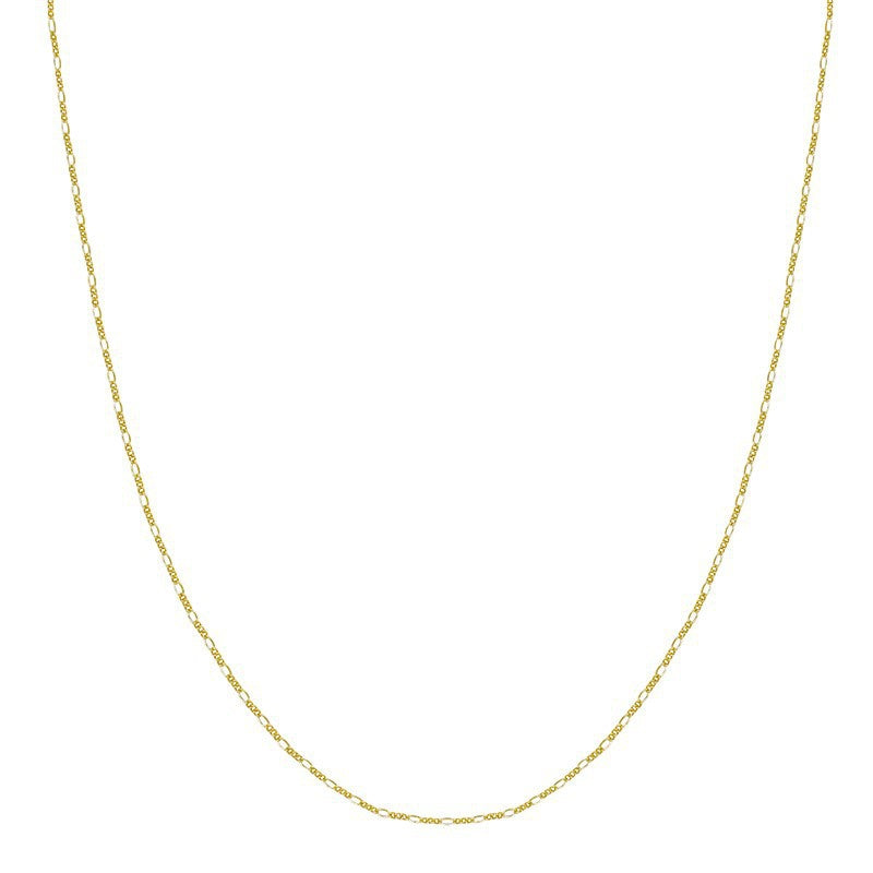 Chain To My Heart Necklace Gold