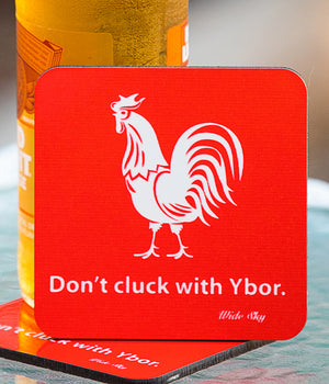 Don't Cluck Coaster