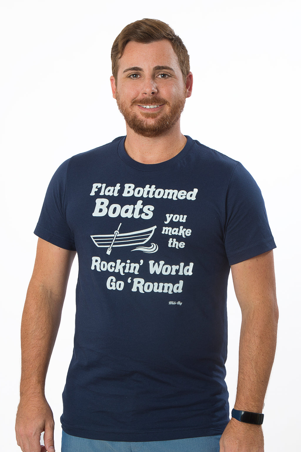 Unisex Flat Bottomed Boats