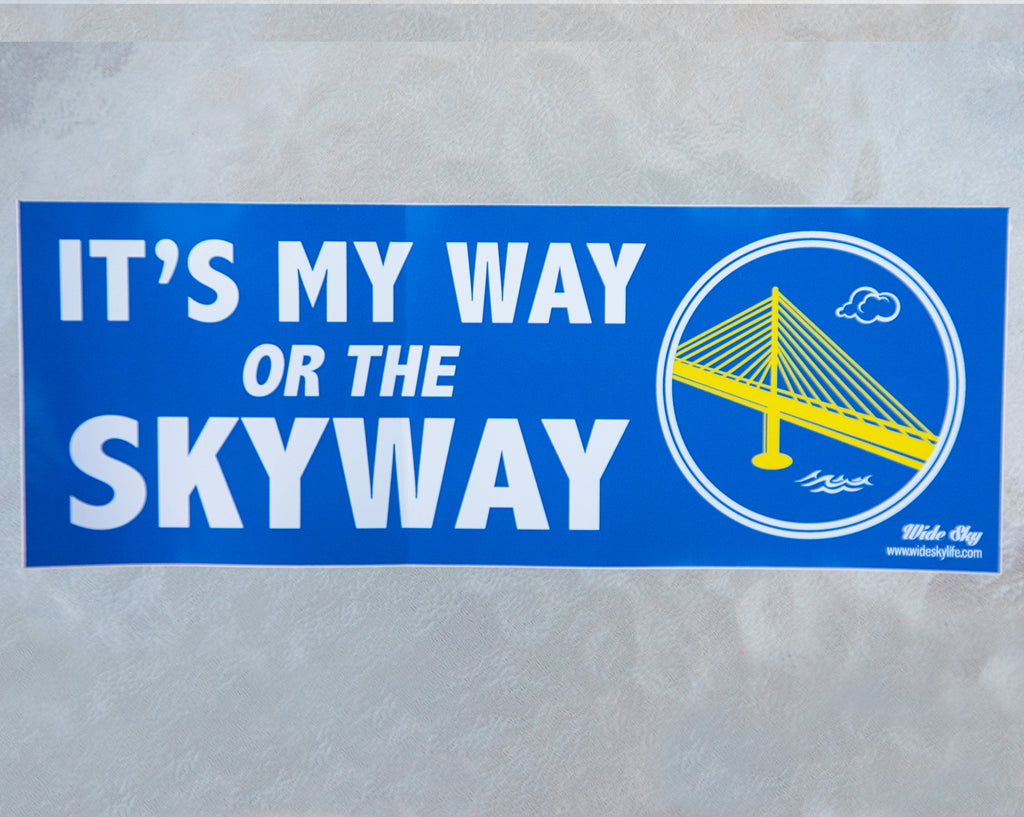 Skyway Sticker