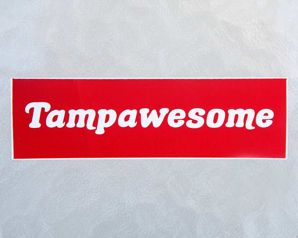 Tampawesome Sticker