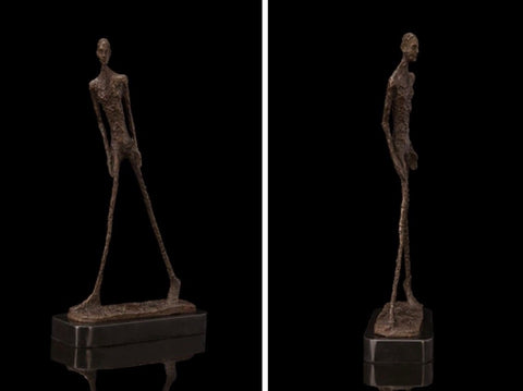 Giacometti Bronze Abstract Sculpture