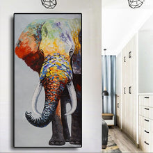 Load image into Gallery viewer, African Colorful Elephant