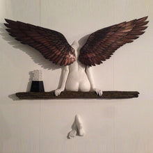 Load image into Gallery viewer, Angel Wall Sculpture