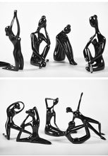 Load image into Gallery viewer, Abstract Yoga Girl Figurines