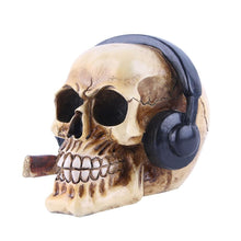 Load image into Gallery viewer, Gangster Skull With Headphone